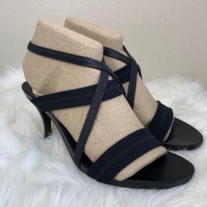 Donald J Pliner Strappy Stretchy Stiletto Heels